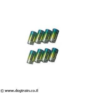 מארז 8 סוללות לקולר אלקטרוני 4LR44