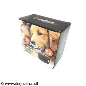 DogTrain-52 קולר נגד נביחות ויללות לכלבים מכל הגזעים