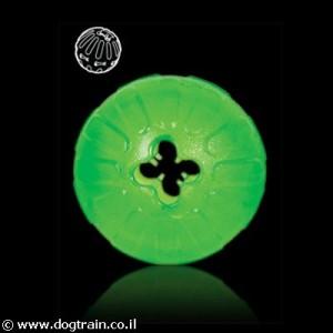 Treat Dispensing Chew Ball STARMARK צעצוע לעיסה ירוק