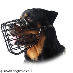 BM-4644- זמם סל מקצועי לכלב בחתך מלבני מצופה פלסטיק קשיח