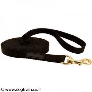 NL-0057-רצועת ניילון ארוכה לכלב לאילוף וסיור