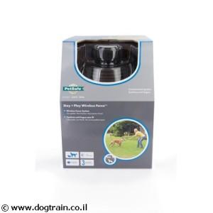 גדר חשמלית לכלב ללא חוטים! לכל הגזעים של PetSafe האמריקאית