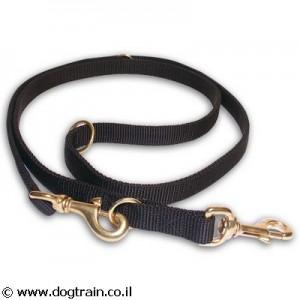 NL-0061-רצועת ניילון לכלב עם אורך משתנה לאילוף הליכה וסיורים