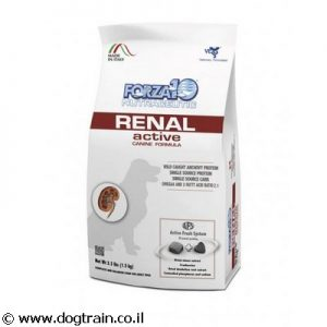 "Forza10 Renal active-מזון רפואי 4ק""ג לכלבים"