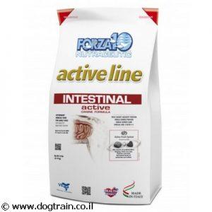 """Forza10 INTESTINAL-מזון רפואי 4ק""""ג לכלבים לטיפול בבעיות מעיים"""