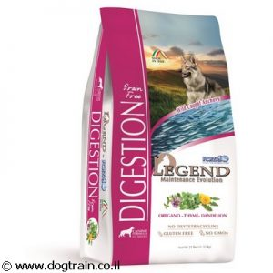 "Legend DIGESTION-מזון יבש 11.33 ק""ג ללא דגנים לכלבים עם בטן רגישה"