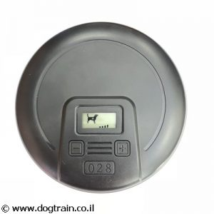 דיסקה נוספת- משדר לגדר חשמלית לכלב עם קולר נטען לפנים הבית