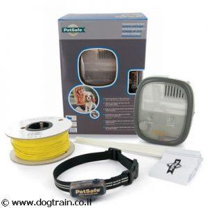 גדר חשמלית של PetSafe האמריקאית לכלבים מגזע קטן מאוד ולחתולים