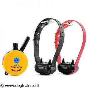 e-collar Mini Educator קולר אילוף לכלבים מכל הגזעים