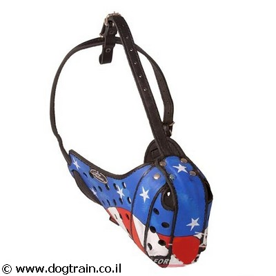 american-hand-painted-leather-dog-muzzle