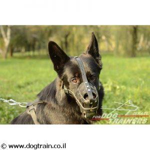 זמם לכלב בצורת סל בסגנון מלכותי מעור מאוורר וקל לשימוש יומיומי