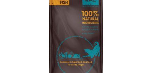מזון טבעי רך לכלבים-דגים