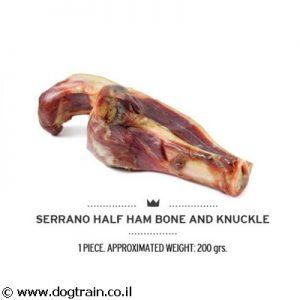 עצם פורקי מדיום 100% טבעית לכלבים MEDITERRANEAN SERRANO