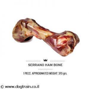 עצם פורקי לארג' 100% טבעית לכלבים MEDITERRANEAN SERRANO
