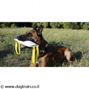פפירול רחב וארוך עשוי מבד של צינור כיבוי אש לכלבים גדולים עם 2 ידיות אחיזה