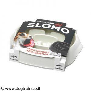 SLOMO- צלחת לכלב לאכילה איטית