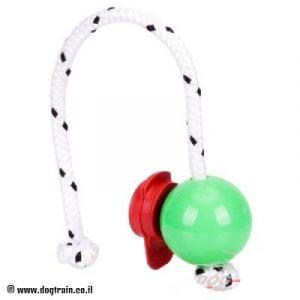 'המשחק המושלם'-כדור גומי ירוק חזק מאד עם סט מגנטים
