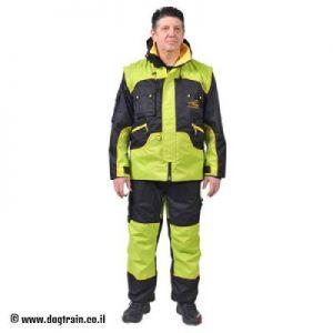 חליפת אילוף מקצועית אשר עמידה לכל מזג האוויר