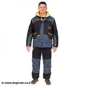 חליפת אילוף מקצועית קלת משקל מבד נושם