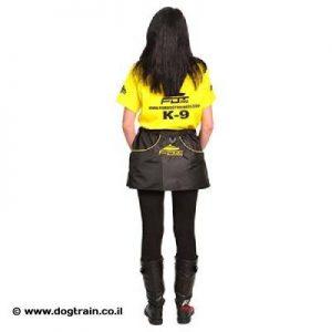 חצאית-פאוץ מניילון עבור אילוף כלבים וטיולים
