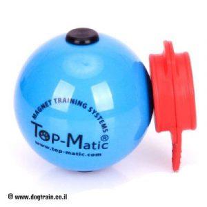 """כדור גומי כחול לאימוני החזרה בקוטר 6.8 ס""""מ"""