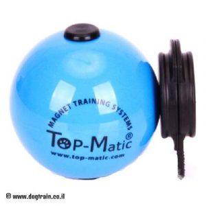 כדור גומי נפלא בצבע כחול לאילוף מקצועי
