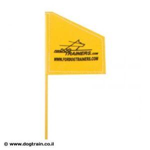 דגל גישוש וסימון לאילוף כלבים מקצועי