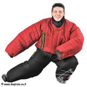 חליפת נשיכה אדומה להגנה מלאה על הגוף – PBS1F