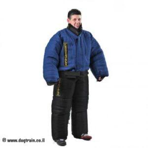 חליפת נשיכה כחולה להגנה מלאה על הגוף – PBS1H