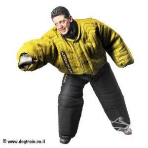 חליפת נשיכה צהובה להגנה מלאה על הגוף – PBS1A