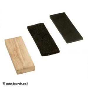 חפצי גישוש שוצהונד סטנדרטיים – 3 כלים: עץ, לבד ועור