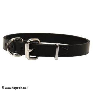"""קולר לכלב מעור (2.5 ס""""מ רוחב)"""